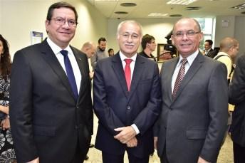 Lúcio Ferreira Gomes, Casimiro Neto e Nelson Martins