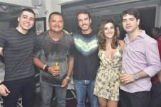 Leo Vasconcelos, Edson Rocha, Mario Furtado, Laeane e Pedro Henrique Vasconcelos