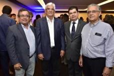 Luiz Eduardo Barros, Assis Machado, Mauro Benevides Filho e Luciano Bezerra