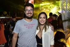 Marcos Romcy e Lia Nobre