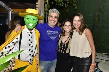 O Mascara, Ricardo Wandres, Denise Landazori e Luana Sampaio