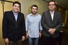 Raul Santos, Deodato Ramalho e Delano Macêdo