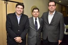 Raul Santos, Mauro Benevides Filho e Delano Macêdo