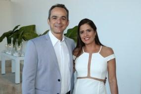 Renato Freitas e Denise Sanford