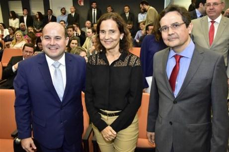 Roberto Claúdio Bezerra, Izolda Cela e Edilberto Pontes