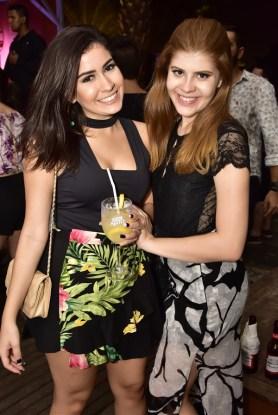 Camila Frari e Noroni Noronha