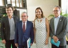Custódio Almeida, Henry Campos, Izolda Cela e Lucivan Miranda (1)