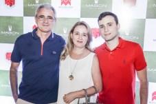 Jose, Giovana e Lucas Blanchard