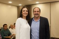 Mirian Pereira e Paulo André Holanda