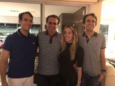 Igor, Gaudencio, Ingrid e Gaudencio Jr
