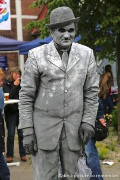 Menschliche Statue