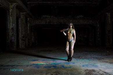 Foto: Tapitore Photography, Daniel Schlupp Bodypainting: Nosvertes Arts, Marlon Hofmann Model: Barbara
