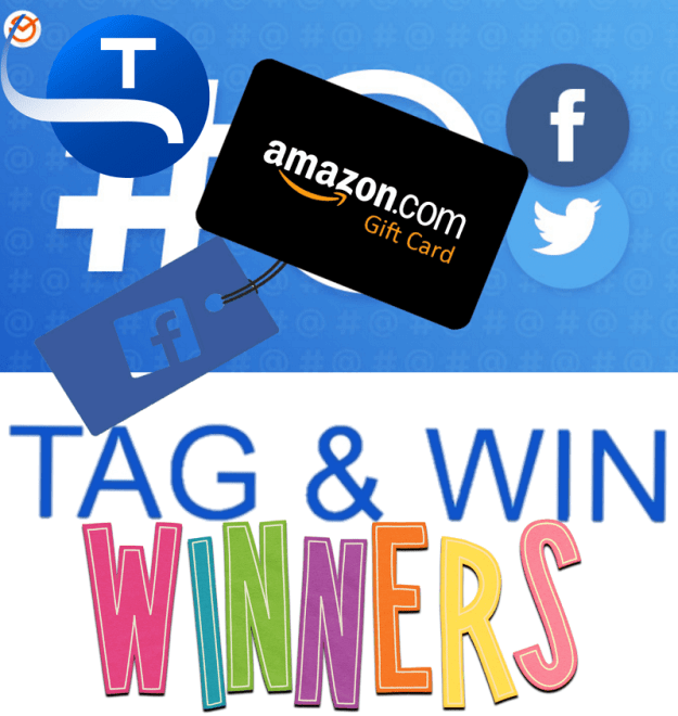 Tag And Win Winners