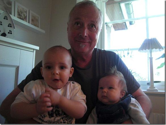 Täppas med barnbarn