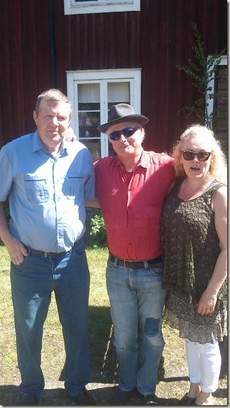 Vädergurun Sten Kardell, jag och Helena
