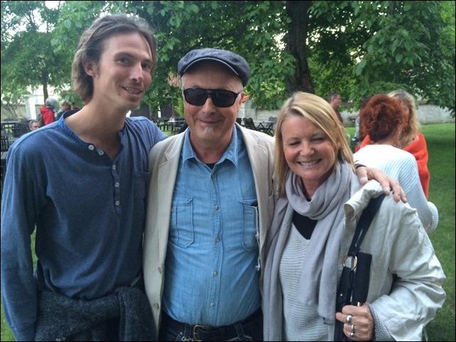 Felix, Täppas och Lisa Wacklin, projektledare för Tillgänglig bio vilket inkluderar bl a syntolkning
