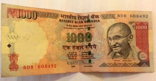 1/100 av ett Lakhan