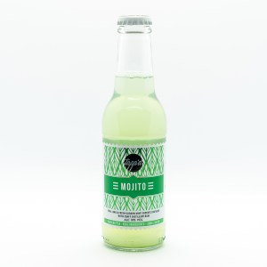 Mojito Ready To Drink Bottled Cocktail Isolated Product Image 2