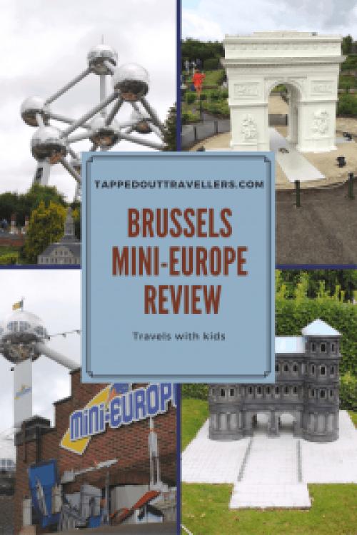 Brussels with kids | Mini Europe | Brupark Brussels | Belgium Miniature Park