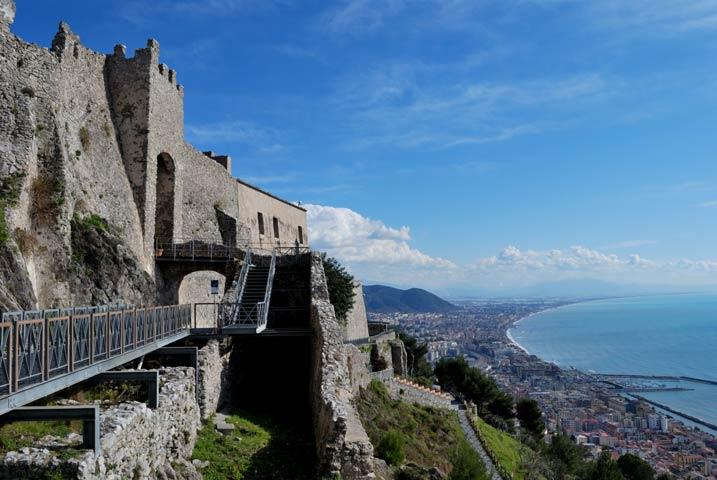 Castello Arechi a Salerno | numerosette.eu