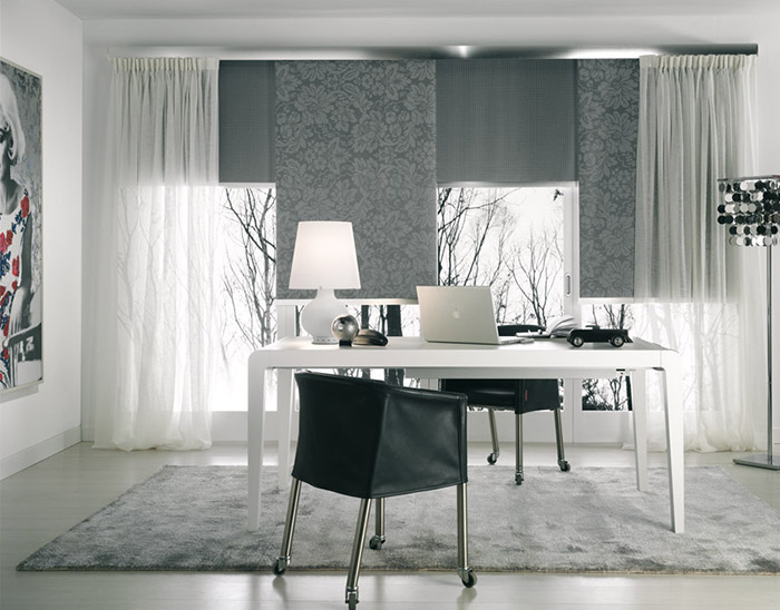 Tende a rullo fatte a mano. Drapes And Upholstery Products
