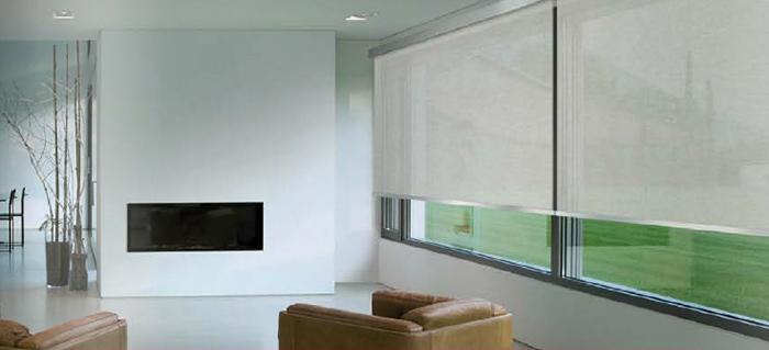 Tenda a rullo da interni, montaggio senza fori tenda avvolgibile a strisce per finestre, tessuto, 106x156 cm bianca. Drapes And Upholstery Products