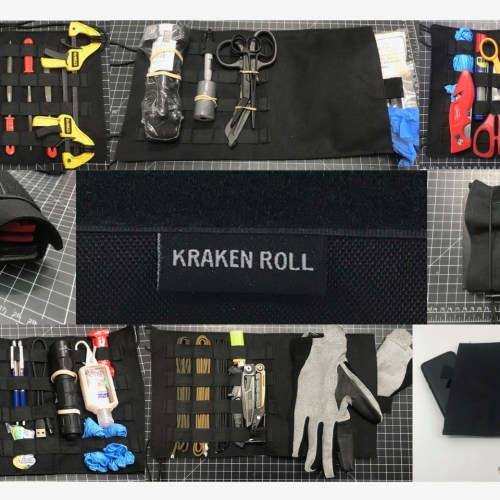 Kraken Roll Organizer by Jim Erwin Sold Exclusively by Tap Rack Holsters and Custom Kydex