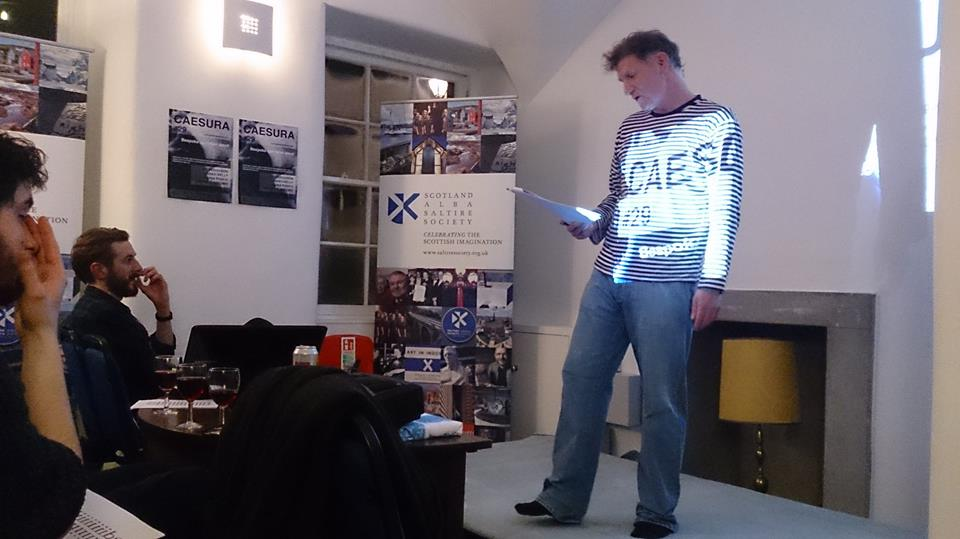 My Bonnie Scotland - Jim Ferguson reading at Caesura