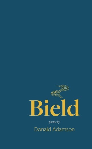 """Cover for """"Bield"""" by Donald Adamson"""