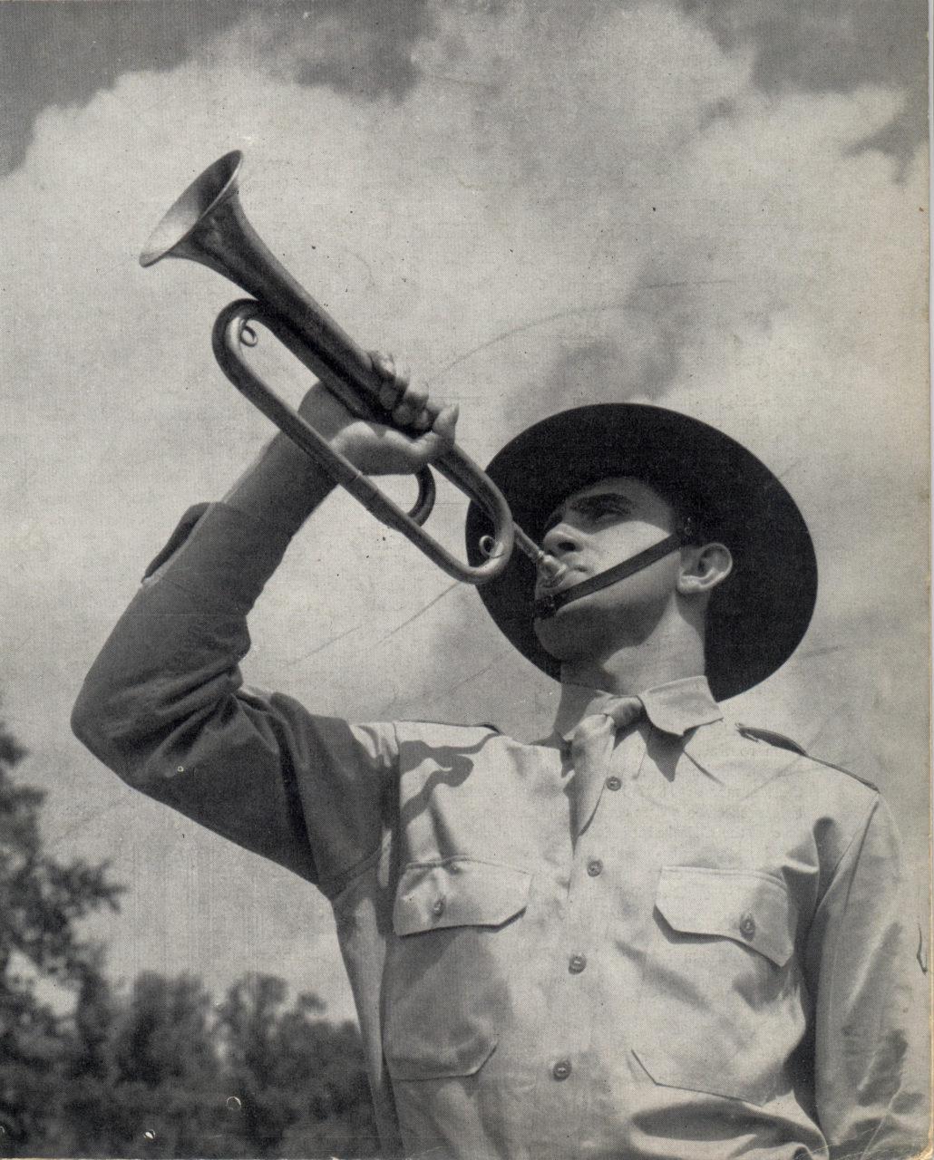 wwii bugler
