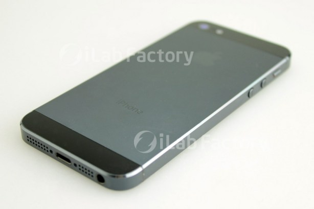 Photo of the back of the iPhone 5