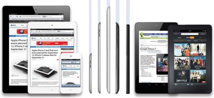 iPad Mini design Vs others