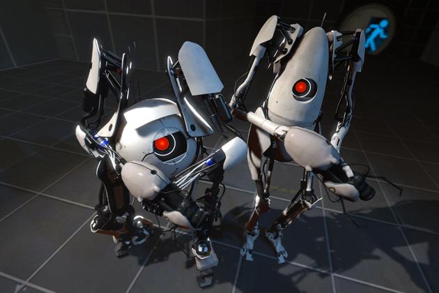 Valve Steam Box Portal 2 Robots