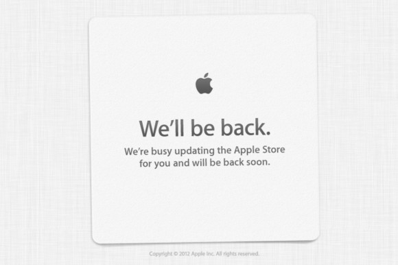 iPhone 5 Apple Store is Down