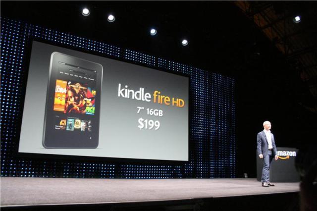 Kindle Fire HD announced