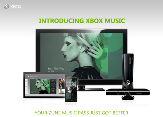 Xbox Music Lady Gaga