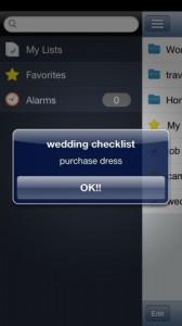 We List iPhone App