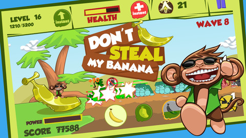 don't steal my banana iphone game