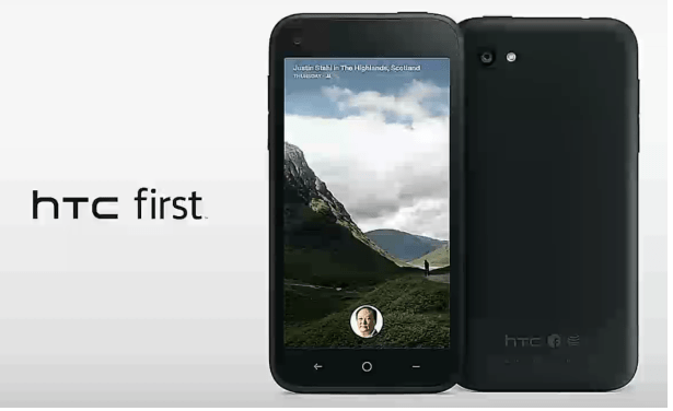 """Although the HTC First is the """"first"""" of the HTC-Facebook Partnership smartphones, it may be the last of the Facebook phones with AT&T."""