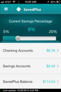 SavedPlus iPhone App