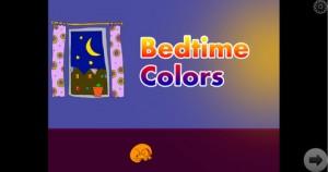 Bedtime Colors iPhone App