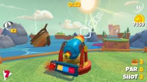 Boom Boom Hamster Golf iPhone Game