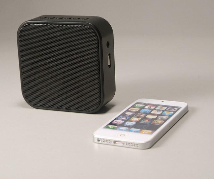 PLUG portable bluetooth speaker