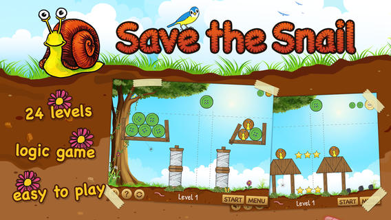 Save the Snail HD iPhone Game