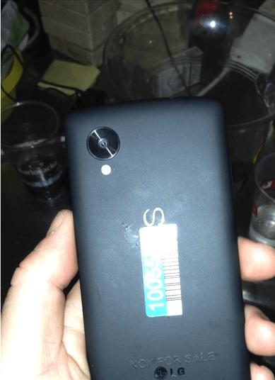 Nexus 5 back plate