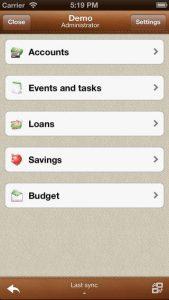 Alzex Finance iPhone App