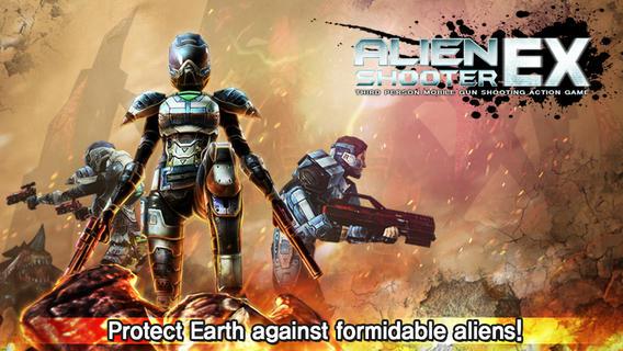Alien Shooter EX iPhone Game