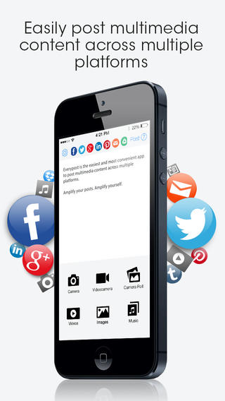 Everypost iPhone App