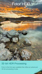 Fotor HDR iPhone App