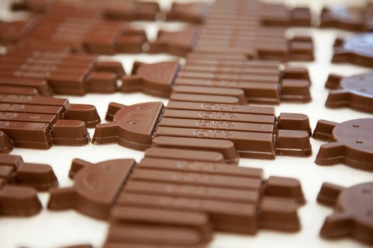 Android KitKat As Sweet as Kit Kat Bars